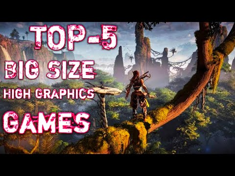 Top 5 Biggest Size Ultra High Graphics Android Games | Old Is Gold | Must Watch 2018 (HINDI)