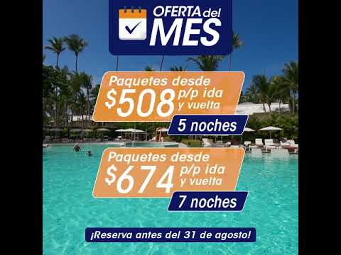 Ferries Del Caribe Oferta Del Mes Grand Palladium Punta Cana Youtube