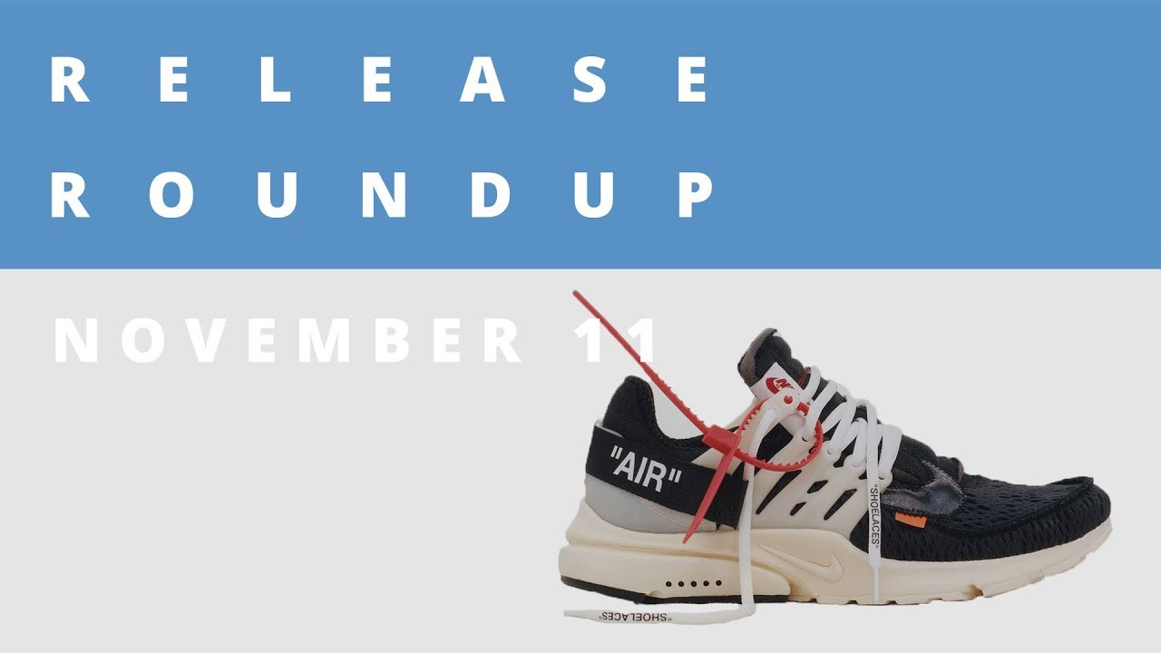 Off-White x Nike Collection, jeffstaple speaks on his Black Pigeon Collab &  More | Release Roundup