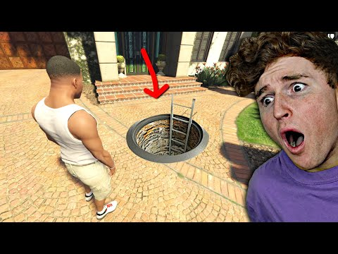 I Found A SECRET ROOM Under Michaels House.. (GTA 5 Mods)