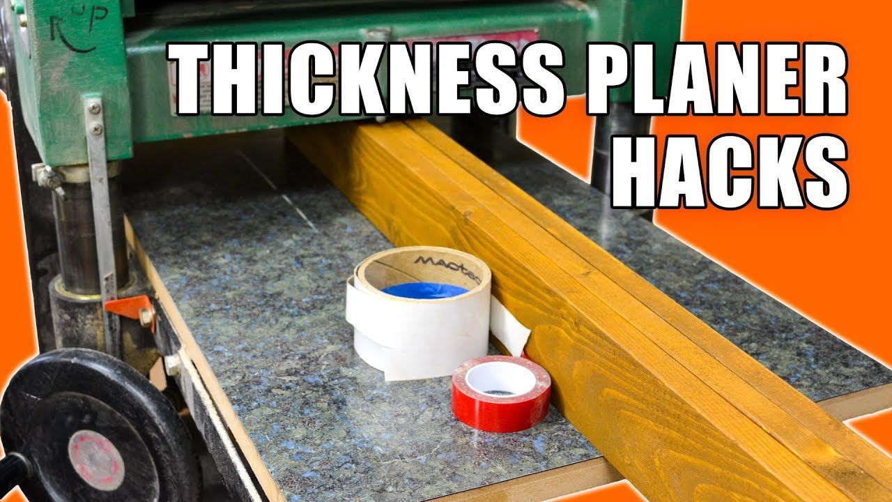 The 5 Best Thickness Planers Of 2019 | LumberAce
