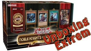 Yugioh Noble Knights of the Round Table Box Set Unboxing!