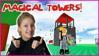 BUILDING MAGICAL TOWERS!