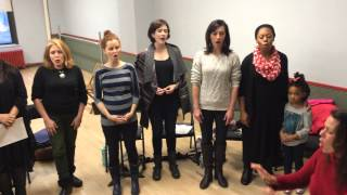 The Sound Of Music LIVE! Nuns' Christmas Party! - Rehearsal