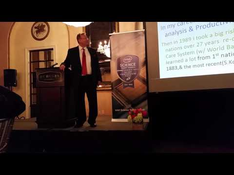 Dr. Steven Eastaugh's Talk at the 75th Intel Science Talent Search
