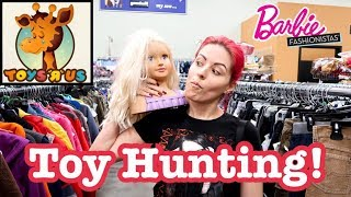Toys R Us Toy Hunting Hit & Miss Barbie Fashionista Finds at Walmart