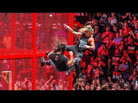 Superstars falling off Hell in a Cell: WWE Playlist