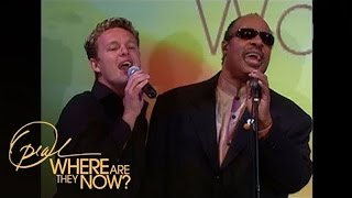 How Stevie Wonder Helped Launch Jake Simpson's Career | Where Are They Now | Oprah Winfrey Network