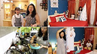 Morning To Evening Routine | Easy School Tiffin Recipe | Daughter's School Function | Dinner Ro