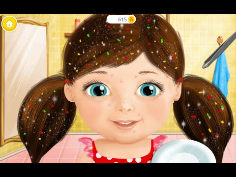 Sweet Baby Girl Beauty Salon 2 TutoTOONS Educational Pretend Play Android İos Game GAMEPLAY VİDEO
