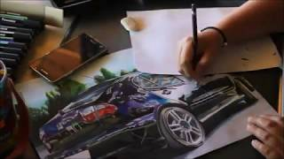 Drawing Seat Leon 2004 (MarlenaSzkice)