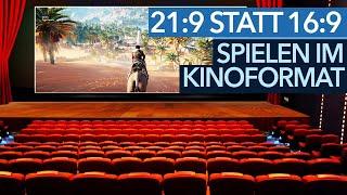Spielen im Kinoformat - Lohnen sich 21:9-Auflösungen?