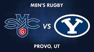 Saint Mary's vs BYU Rugby 10 March 2018