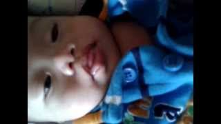 Ethan Zaiden  LLoveras ..with down syndrome  baby 3 months old..:)
