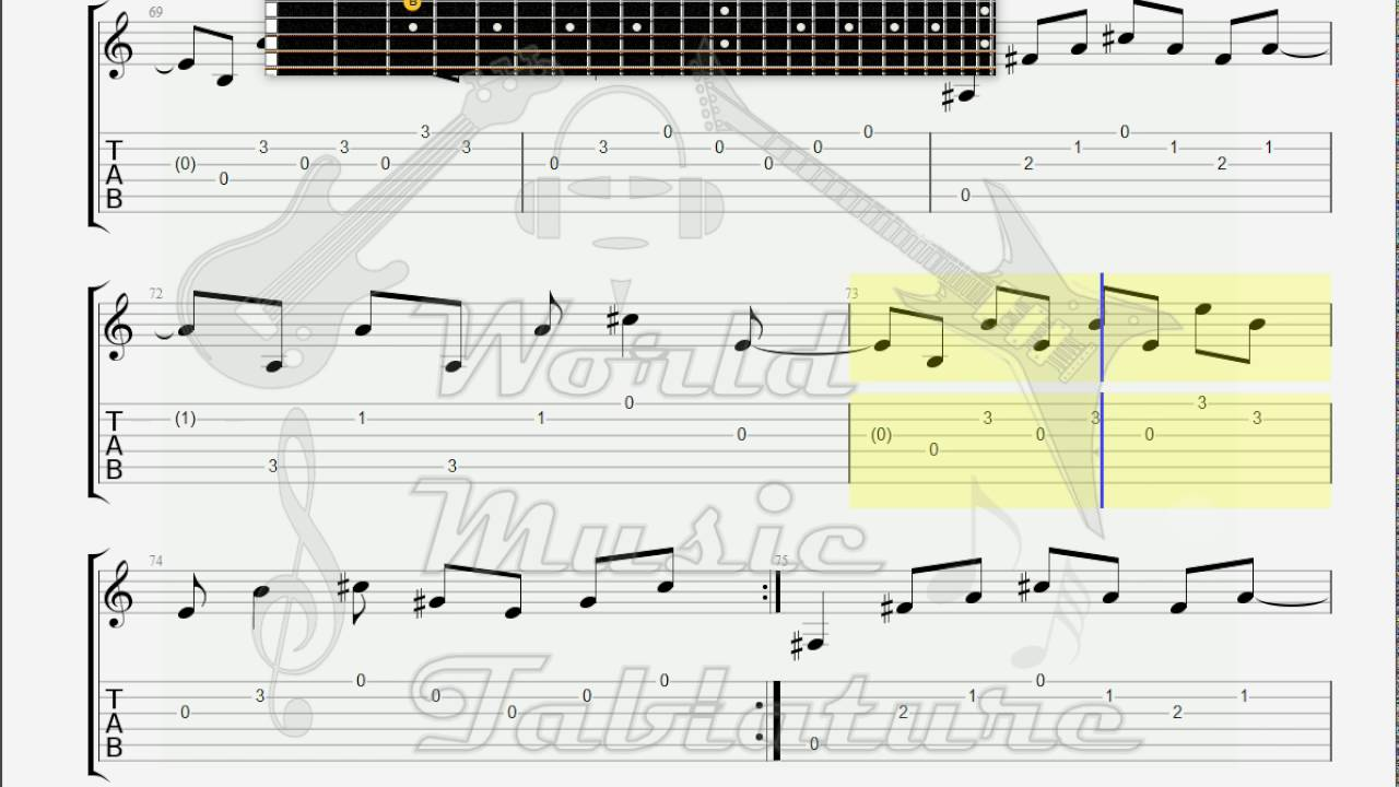 Dark Tranquility Auctioned Guitar Tab Youtube
