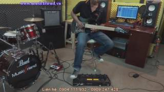 Hãy trả lời em guitar solo - Boss GT-100