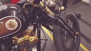20 KARAT GOLD Zero Gravity Motorbike