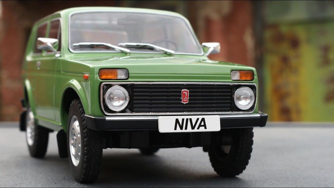 1:18 MCG Lada Niva 1976 green