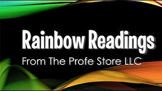 Spanish Rainbow Reading Preview