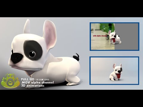 3D Animated Dog Pack (Motion Graphics Template)