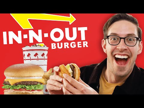 Keith Eats Everything At In-N-Out *SECRET MENU* - The Try Guys