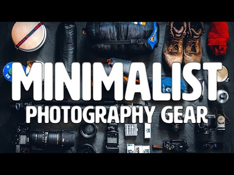 Minimalist Photography Gear for Adventure & Travel Photography