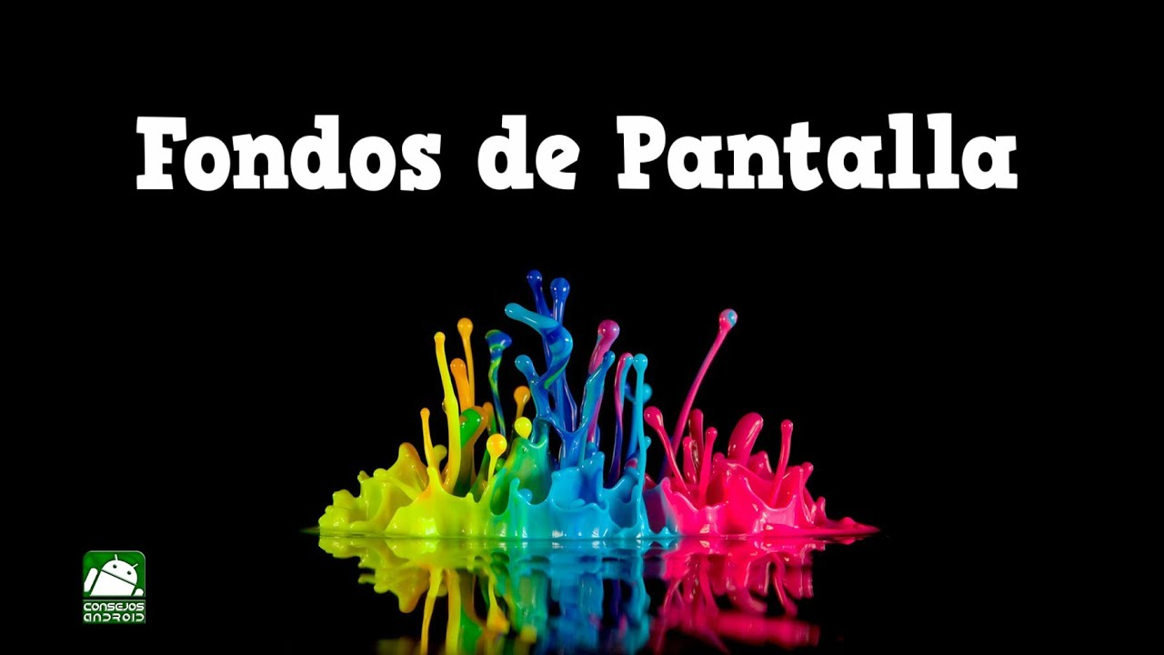 fondos de pantalla coloridos para android youtube