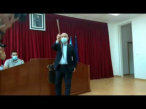 Alberto García recupera el bastón de mando de Catoira