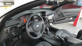 구미 BMW 순정형 후방카메라와 룸미러 모니터!
