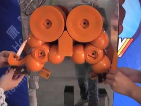hommy orange juice machine   standard, upright orange juice machine