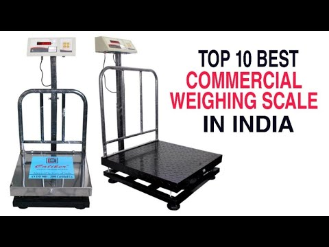 Top 10 : Best Commercial weighing Scale in India With Price 2021 | Best Weighing Machine Brands