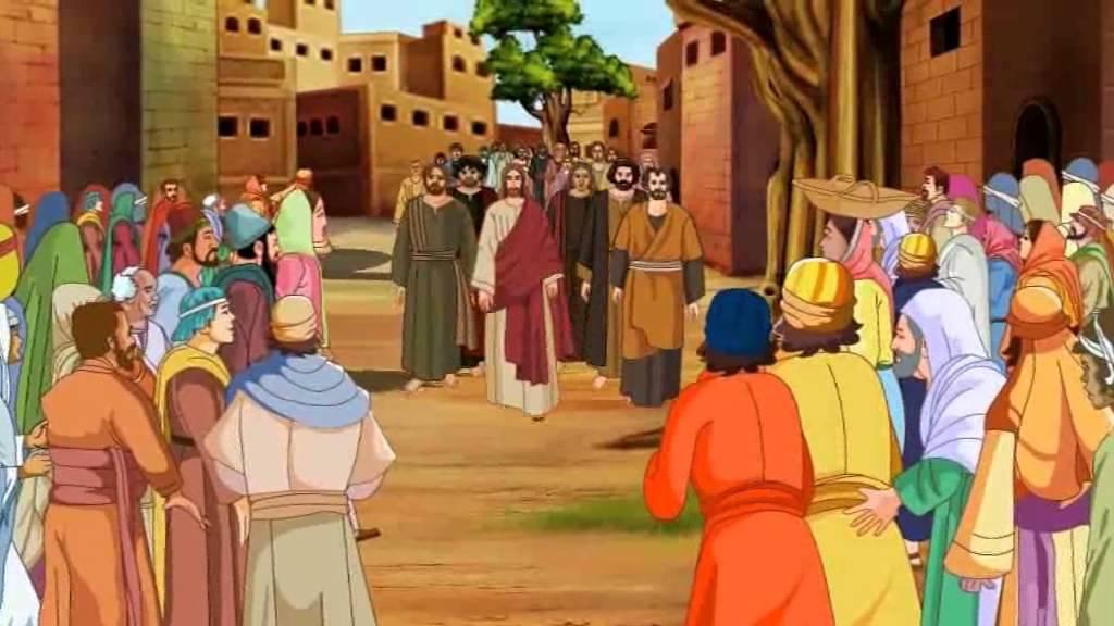 Bible stories for kids - Zacchaeus ( Jesus Cartoon Animation in Malayalam )