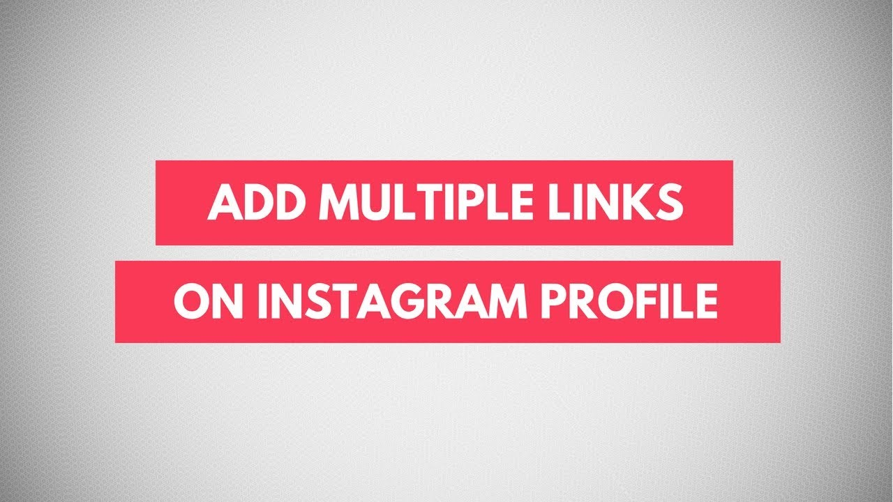 Image result for Instagram multiple links