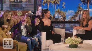 "After jennifer aniston surprised ""friends"" fans and chatted with selena gomez as she guest hosted ""ellen"", cheryl hickey graeme o'neil discuss if jen sho..."