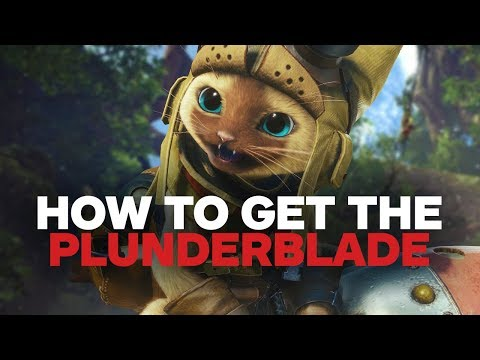 Monster Hunter World - How to Unlock the Plunderblade Palico Gadget