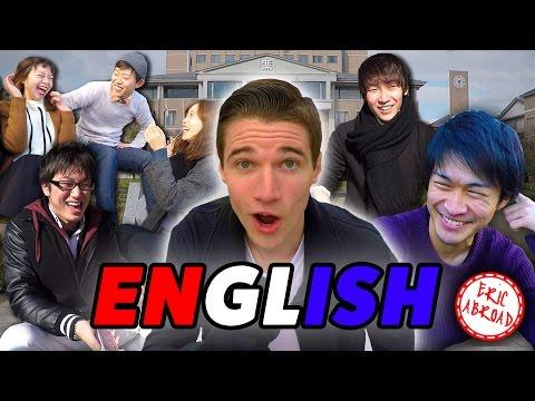 Japanese College Students Interviewed in English! 日本人の大学生が英語でのインタビュー!