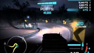 NFS Carbon - Dump Truck Drift - 1,448,920 Points