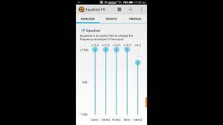 Equalizer FX Pro for Best sound effect screenshot 1