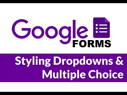 Styling Form Inputs In Google Forms
