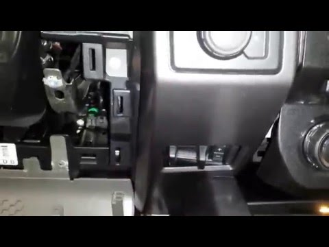 2015 2016 f150 f-150 Trailer Brake Controller Installation how to