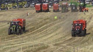 Claas vs Zetor | Tractor Show || Tractor Drag Race 2016