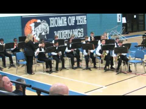 Hildebrandt intermediate school concert , symphonic and honour band 2014 funkytown