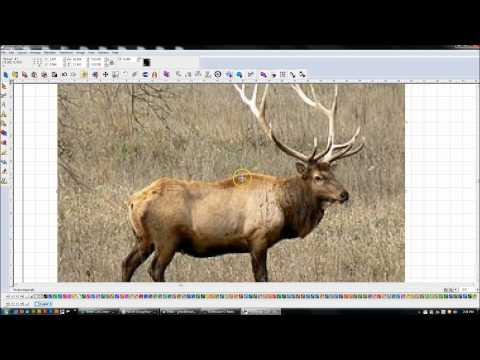 Torchmate CAD/CAM:  Importing Images and converting to vector