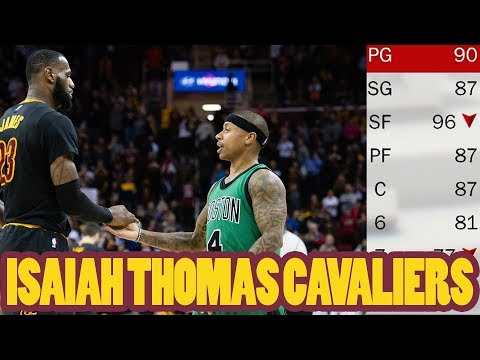 ISAIAH THOMAS CAVALIERS! 5 POTENTIAL ALL-STARS! 2018 Cavs Rebuild NBA 2K17