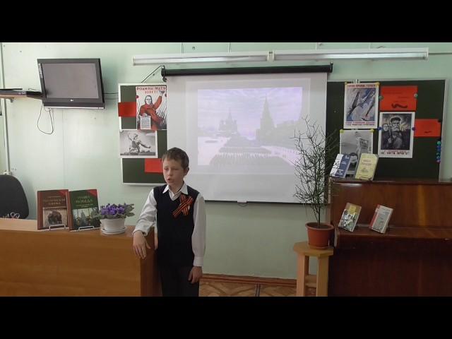 Изображение предпросмотра прочтения – АртемРуденко читает произведение «Хотят ли русские войны?» Е.А.Евтушенко