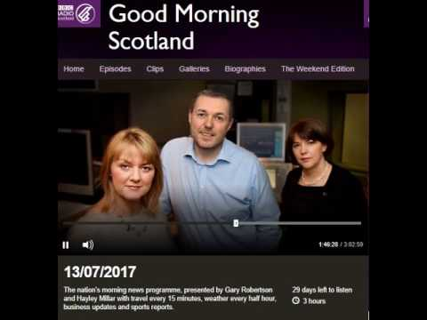 Paul Mitchell, Head of Employment Affairs, on Good Morning Scotland 13th July 2017.
