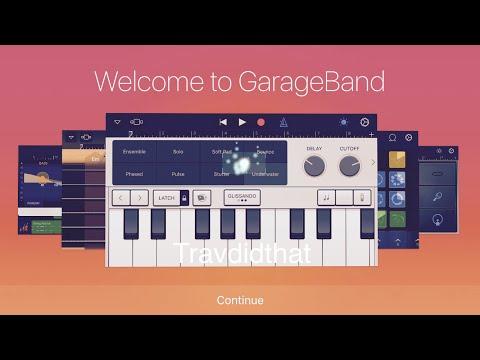 Chilled Lit Hip Hop Trap Beat Made on GarageBand iOS