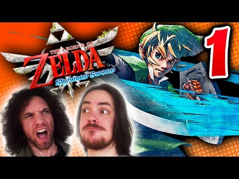 Zelda Skyward Sword: Looking Amazing - PART 1 - Game Grumps