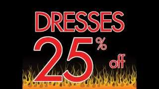 Summer Sizzlin' Sale - Dresses 25% off until May 13! Thumbnail
