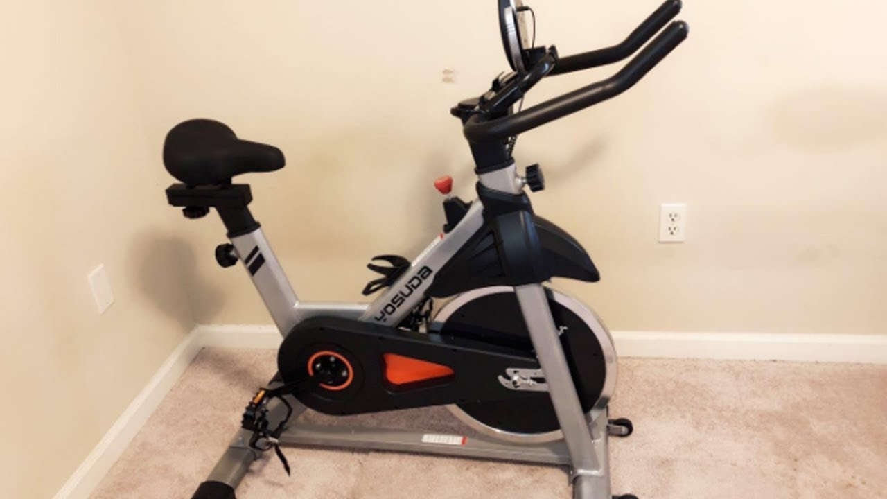 Yosuda Indoor Cycling Bike Stationary Setup Review Youtube